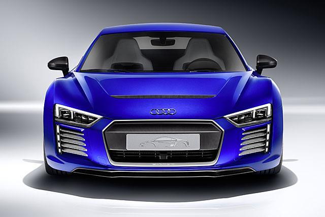 奥迪发布R8自动驾驶概念车